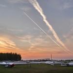 Sunset at the Usman airfield ~ Закат в Усмани