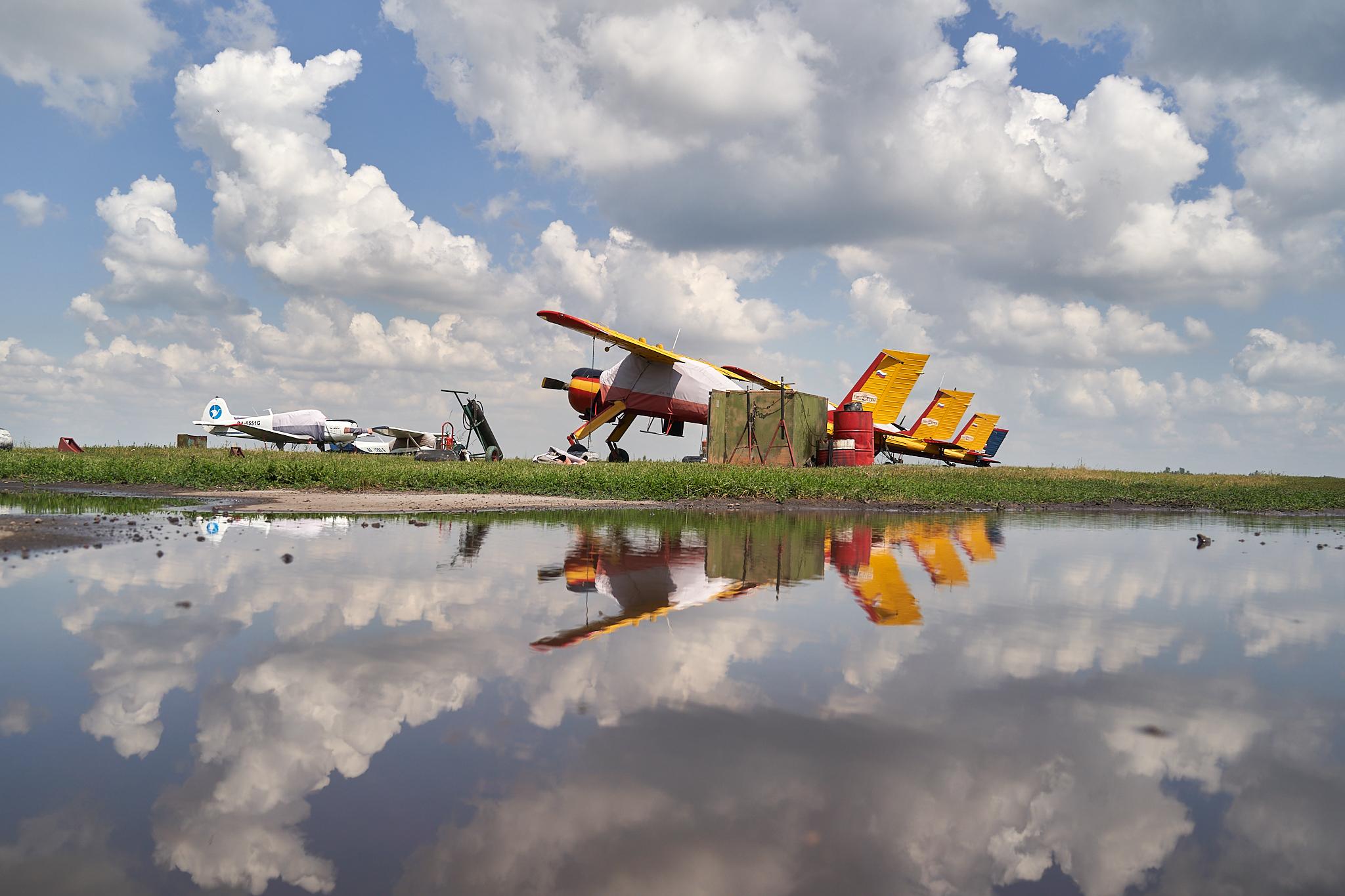Usman airfield - Аэродром Усмань